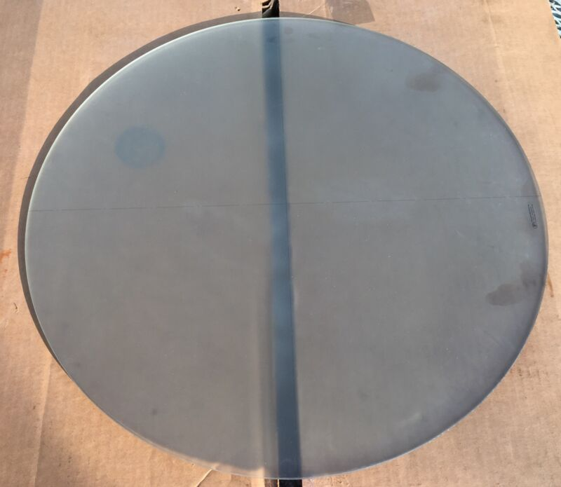 """Precision Industries - Optical Comparator Glass Screen 20 1/8"""" - Perfect Cond."""
