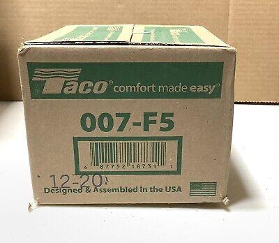 Taco 007-f5 Cartridge Circulator 125 Hp Cast Iron Pump Brand New