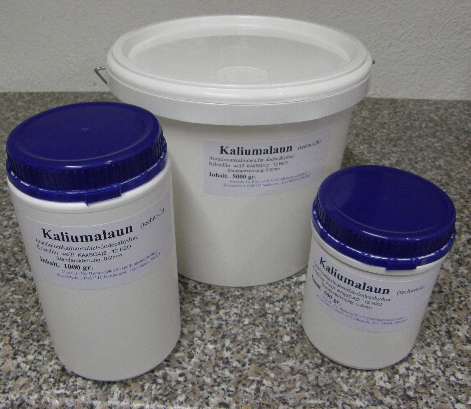 Kristalle Züchten Kalialaun Alaun Knete Hortensien neu 1 Kg. Kaliumaluminiumsul