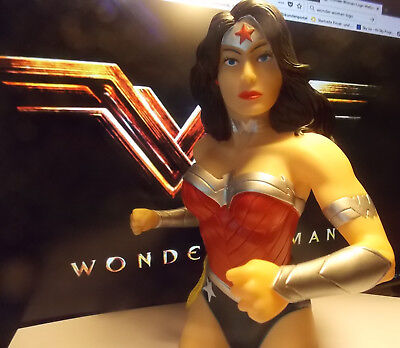 Dc - el Nuevo 52 Wonder Woman - Money Bust Banco - Hucha Nuevo / Caja Orig.