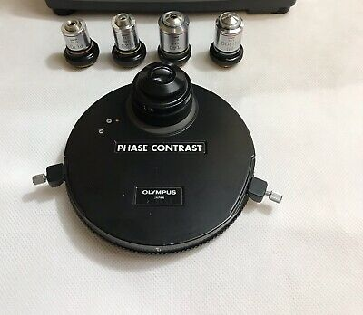 Olympus Microscope Phase Contrast Condenser  Pl 102040100 For Chbh