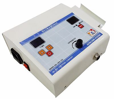Best Digital Ultrasonic Physiotherapy Machine Solid State 1mhz Programmable.