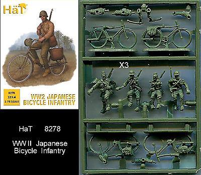 1:72 FIGUREN 8278 WWII JAPANESE BICYCLE INFANTRY - HÄT