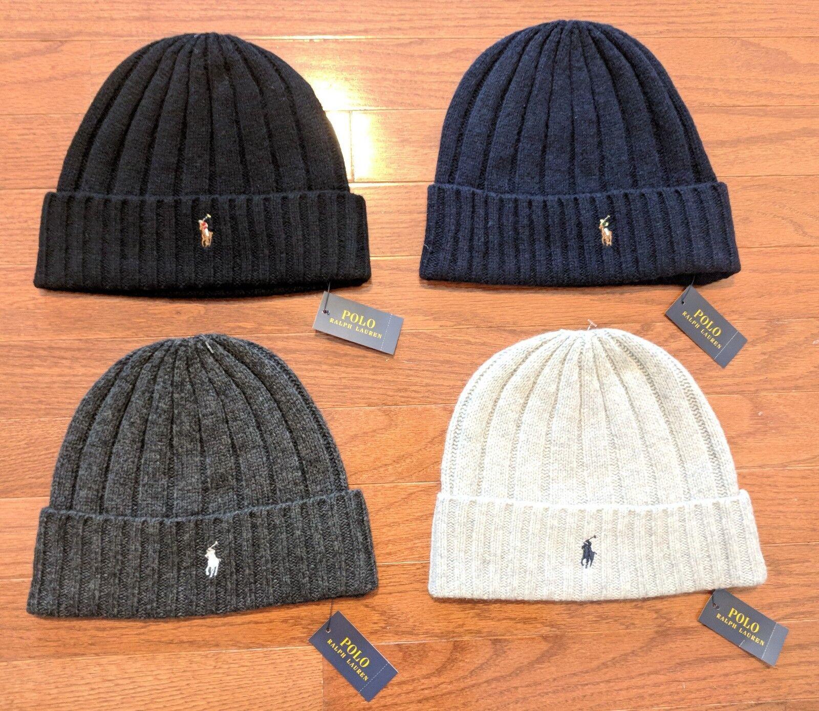 Polo Ralph Lauren Winter Cuffed Wool Ribbed Signature Small Logo Beanie  PP0054 아이템 넘버  183419960404.   1c7808349444