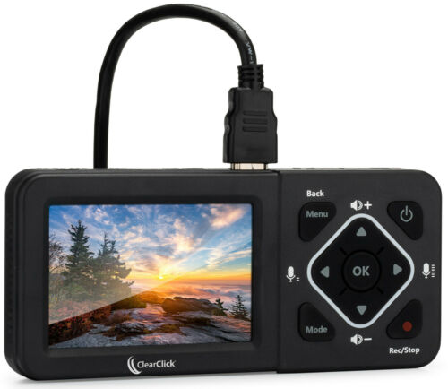 HDMI Video Capture Grabber Recorder Streaming Device Record HD, AV Video, Gaming