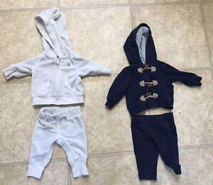 Newborn Boys 2 Piece Outfits