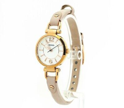 Women's Fossil Watch, Georgia Blush Leather Watch ES4340, New