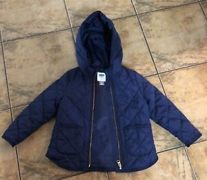 Size 4T old navy lined coat