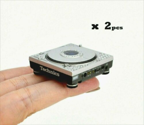Technics Miniature Collection SL-DZ1200 ( x 2)  Yes you get two  Fast Shipping