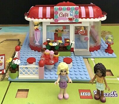 LEGO FRIENDS CITY PARK CAFE COMPLETE WITH INSTRUCTIONS. SET 41135