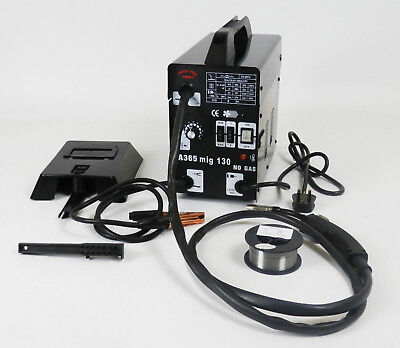 Professional Gasless Mig Welder 130 New No Gas 120A 120 amps 240V + Accessories