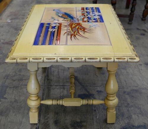 Vintage Tile Table Taylor Tiles California