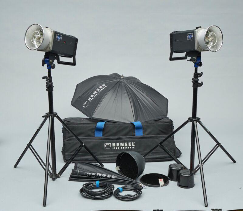 Hensel Integra 500 Travel Light Kit #2