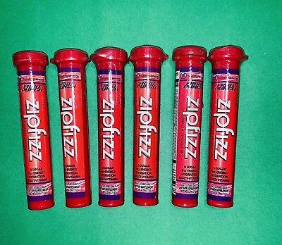 Zipfizz Sturdy Energy Drink 6 units 1 flavor (Fruit Punch)