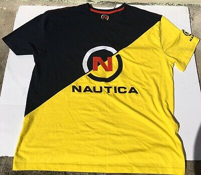 NAUTICA DYNAMIC HERITAGE EMBROIDERED T SHIRT MENS SIZE 2XL