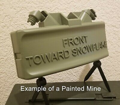 DIY Kit - Replica Claymore Mine (M18A1) - Your Custom Text (Painting Required)