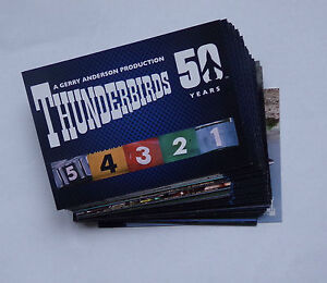 Unstoppable cards Thunderbirds 50 years full 54 card base  set of trading cards