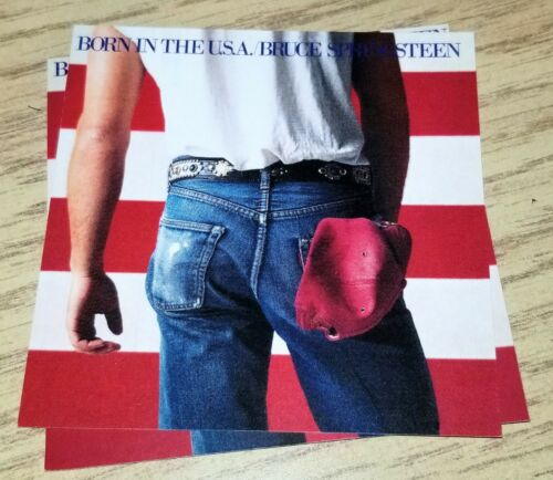 BRUCE SPRINGSTEEN BORN IN THE USA Officially licensed Download of Album MP3 CARD