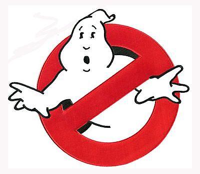 Ghostbusters Logo Uniform Patch - Aufnäher für Kostüm zum aufbügeln - NO - Ghostbusters Ghost Kostüm