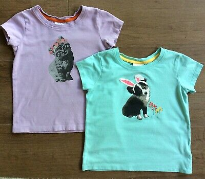 - Hanna Andersson 120 Top Shirt Spring Bunny Easter Anderson LOT 6 7