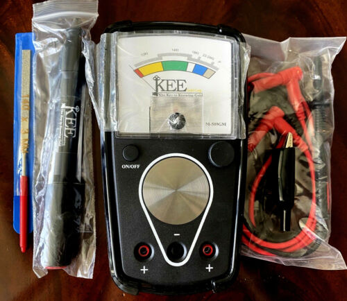 Kee Gold Tester Model M-509GM Prospector Newest Latest Reliable Afordable Tool