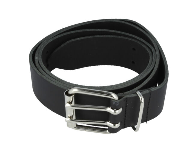 STIHL Leather Trouser Belt. Embossed With The STIHL Logo. 125cm Long x 4cm Wide