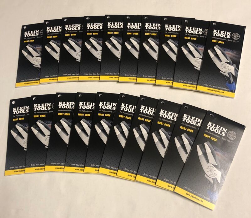 Klein Tools Notepads- (LOT OF 10)- NEW