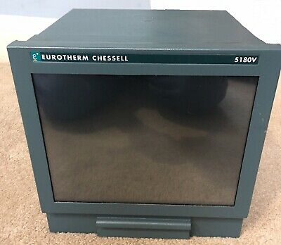 New Eurotherm Chessell 5180v Video Graphics Recorder Chartless