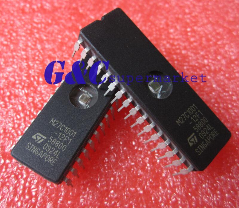 50PCS M27C1001-12F1 27C1001- ST IC EPROM UV 1MBIT 120NS 32CDIP NEW D51
