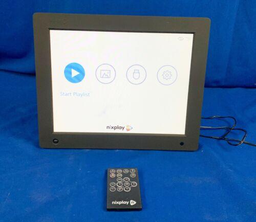Nixplay Seed 10 Inch WiFi Digital Photo Frame-Black with Remote