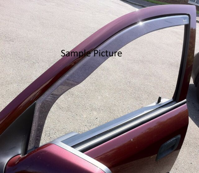 Heko tinted wind deflectors 4pcs set Seat Leon Mk2 5door 2006 - 2012 D28232