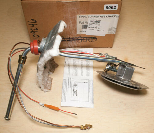 White Rodgers 100109246 Hot Water Heater Final Burner Assembly Natural Gas
