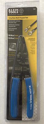 Klein Tool Long-nose Multi-purpose Wire Stripper Crimper And Cutter