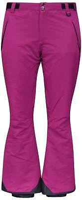 - New Snow Country Outerwear Womens Ski Pants Insulated XS S M L XL Berry  $125