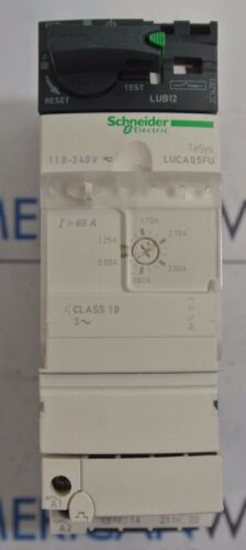 Schneider Electric LUB12 LUCA05FU Self Protected Motor Controller - USED
