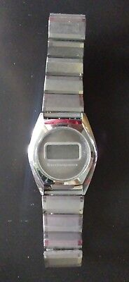 Rare Vintage TEXAS INSTRUMENTS DIGITAL Wrist Watch