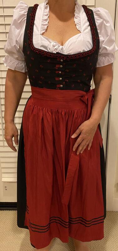 Original German Dirndl Set (traditional Women's Dress), incl. Accessories, L/14