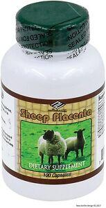 Nu Health Sheep Placenta 100 capsules