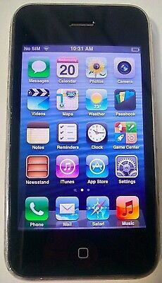 Apple iPhone 3GS 16GB White AT&T(GSM UNLOCKED) Good Condition - Fully Functional