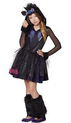 Dark Unicorn Girls Spirt Halloween Costume Childs Small 4-6