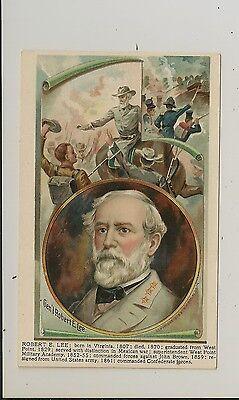 "Copyright, 1908, H.M. Donalson - ""American Heroes"" - Robert E. Lee - Civil War"