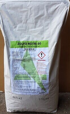 Fungicide Sulfur 80 Micronized Powdered 10 kg Wettable Powder