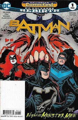 BATMAN - Halloween Comicfest - 2017 - Back Issue (S)](Halloween Cartoons 2017)
