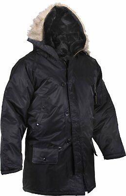 Black N-3b Snorkel Parka (Black N-3B Snorkel Parka Jacket )