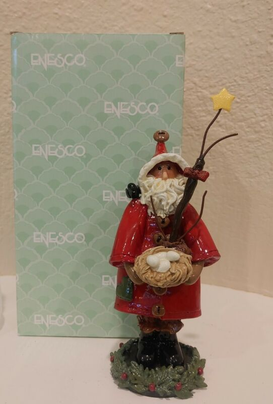 ENESCO Santa Littles Donna Little Santa a Nest 828084