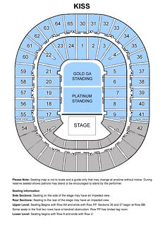 KISS CONCERT TICKETS LOW. LVL. SECTION 1 ROW L SEATS #214 & #215 Craigieburn Hume Area Preview