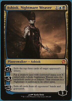 Ashiok, Nightmare Weaver Theros NM Blue Black Mythic Rare CARD (162871) ABUGames