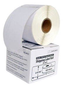 1 Roll of 300 Large Ship Labels in Mini-Cartons For DYMO® LabelWriter® 30256