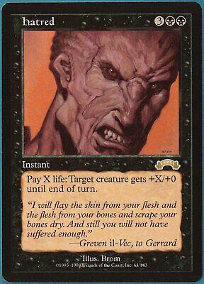 Hatred Exodus NM Black Rare MAGIC THE GATHERING MTG CARD (ID# 126734) ABUGames