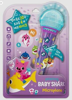 [Pinkfong]Baby Shark Microphone English Version 20 songs